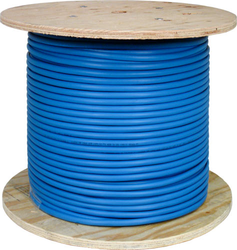 Cat5e Shielded Plenum Blue 057-476 S P BL 2