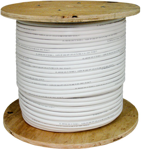 Cat5e UTP PVC 50Pair White 054-456 WH spool