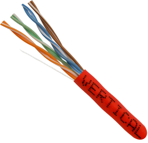 Cat5e UTP PVC Red Riser 054-449RD