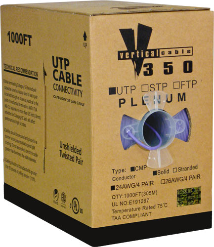 Cat5e UTP Plenum Purple 056-465 P PR 02